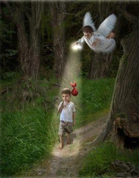 жизнь освещеная ангелом