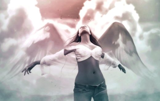 ощущение крыльев за спиной