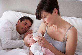 Отношения после рождения ребенка испортились.