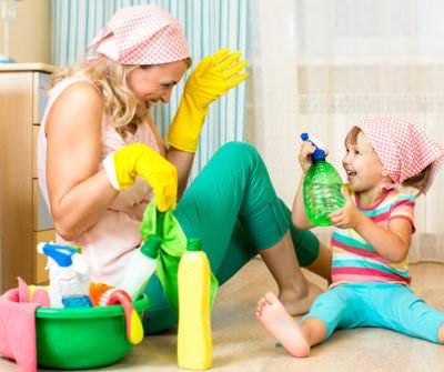 занятия вместе с ребенком
