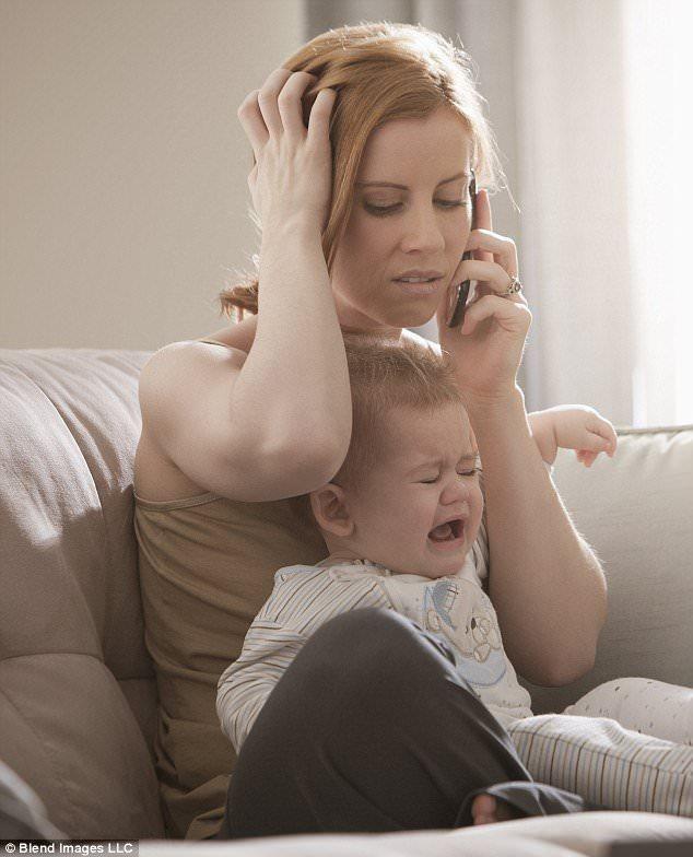 неуверенная мама