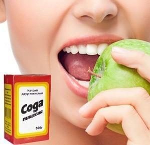 сода для зубов