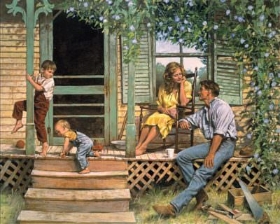 дом для семьи с детьми