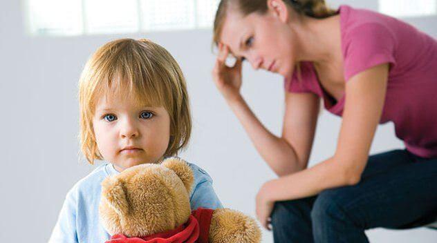 дети депрессивной мамы