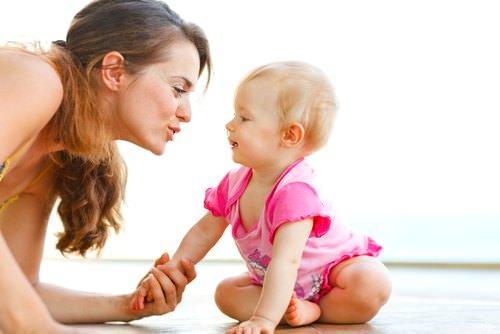 общаться с малышом
