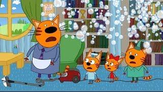 папа в трех котах