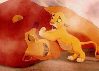 король лев трагически погибает